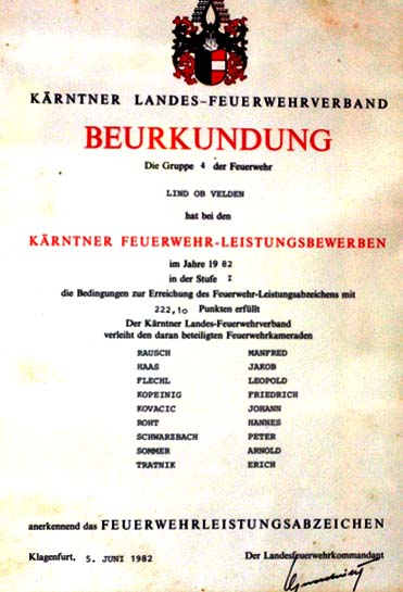 1982 stufe 1