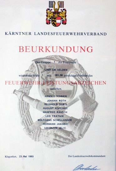 1993 stufe 1