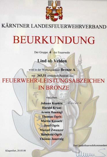 2006 bronze a