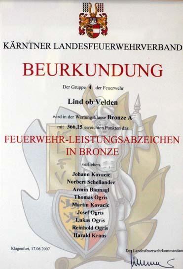 2007 bronze a